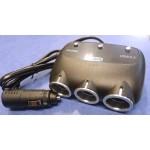 Прикуриватель-тройник с USB выходом на 5  вольт