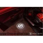 Лазерная проекция логотипа Nissan