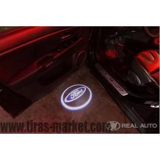 Лазерная проекция логотипа