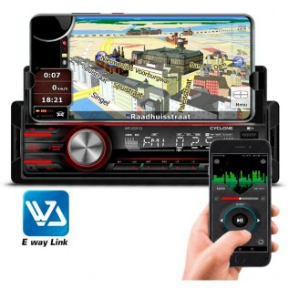 Автомагнитола Cyclone MP-2001BA Bluetooth